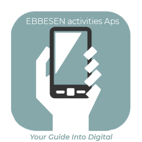 EBBESEN activities logo med tagline